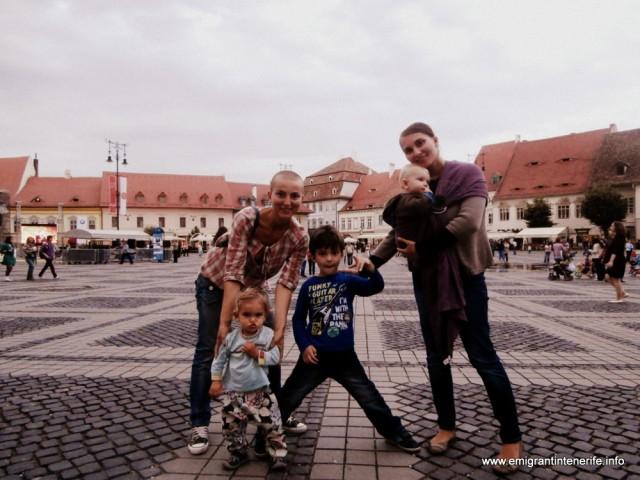 Cu sora-mea si cei doi baieti ai ei, Ayan si Teodor