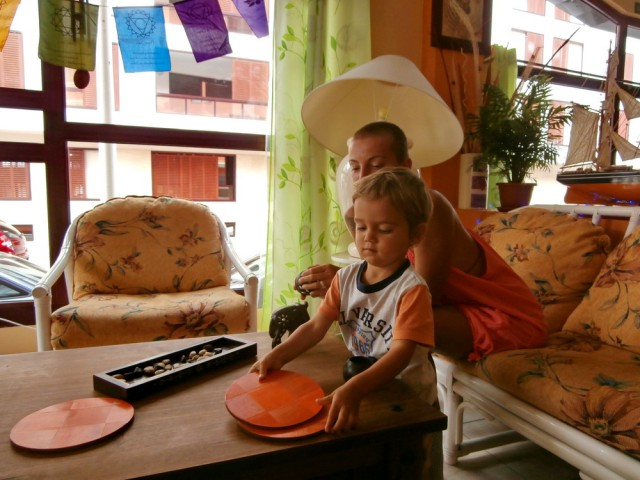 Locul de luat ceaiul din restaurantul El Vego
